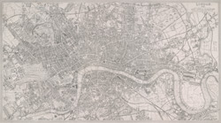 London. 1852. Drawn & engraved expressly for the Post Office Directory